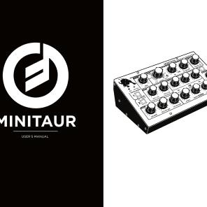 Moog Minitaur User's Manual