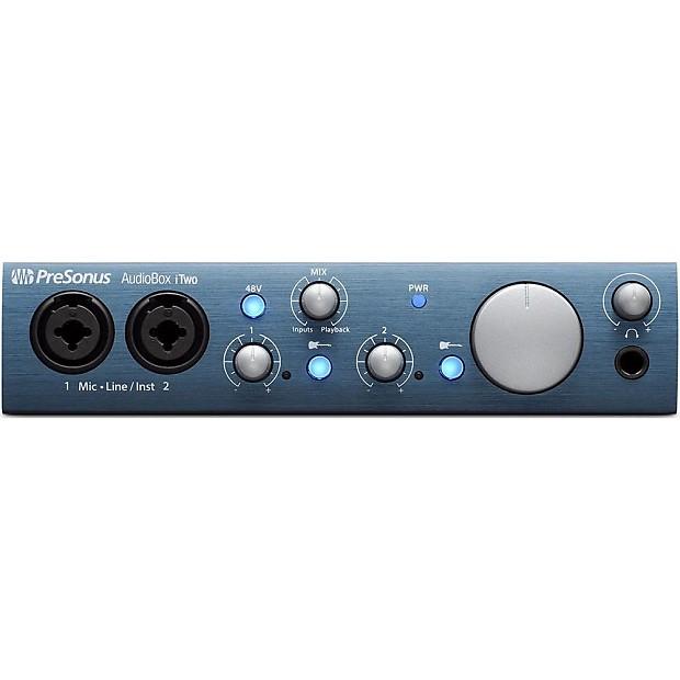 presonus audiobox itwo usb ipad recording interface reverb. Black Bedroom Furniture Sets. Home Design Ideas