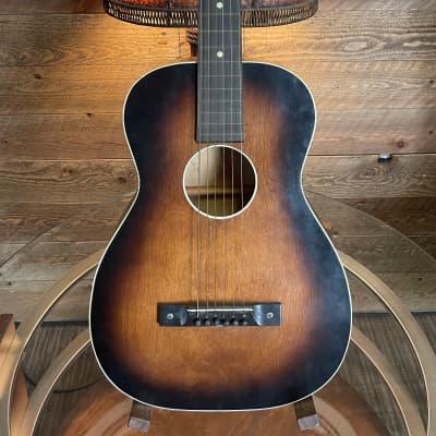 Bronson Square Neck & Slot Head Slide Guitar 1930's Tobacco Burst for sale