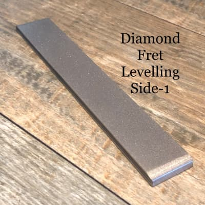 Hosco Professional Diamond Fret Leveling and Crowning File - 2 & 3 for sale