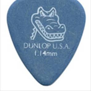 Dunlop Gator Grip Guitar Picks - 1.14mm - Blue - 12 Pack