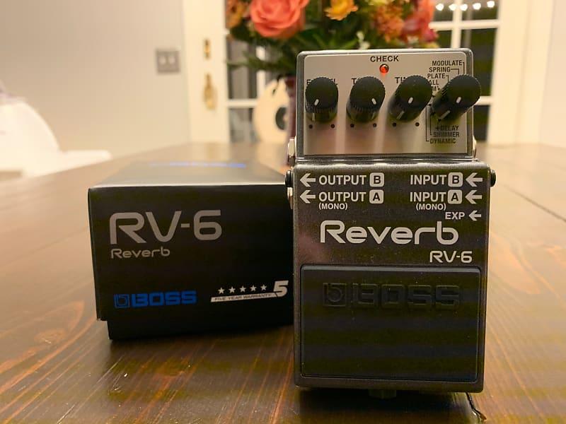 boss rv 6 reverb brian 39 s gear outlet reverb. Black Bedroom Furniture Sets. Home Design Ideas