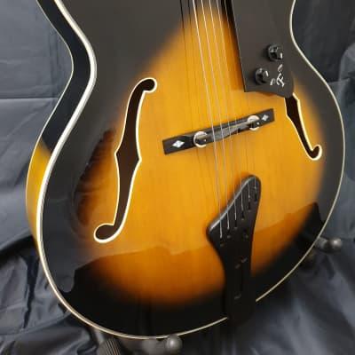 Freshman FJ1 Archtop Jazz Guitar Sunburst for sale