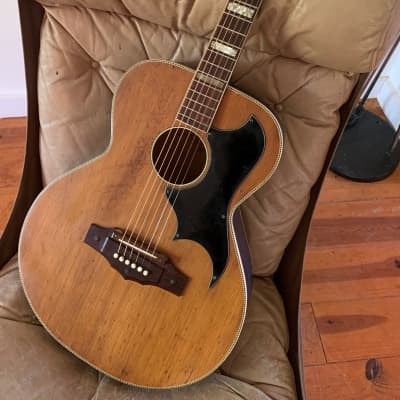 Kay K6170 Factory X-braced guitar 1966-68 natural for sale