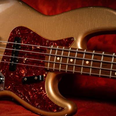 Fender Jazz Bass Relic 1964 - Masterbuilt 2010 Shoreline Gold for sale