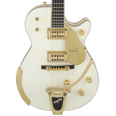Gretsch G6134T-58 Vintage Select '58 Penguin with Bigsby TV Jones Vintage White With Case