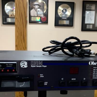 Oberheim DPX-1 w HxC Floppy Emulator SD card