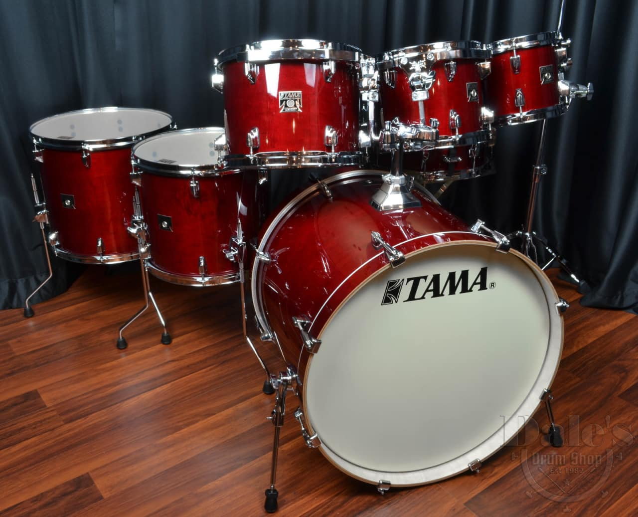 tama drums sets superstar classic maple cherry wine 7 piece reverb. Black Bedroom Furniture Sets. Home Design Ideas