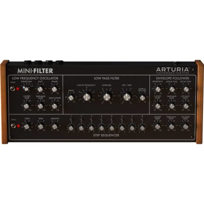 Arturia Mini-Filter Plugin Software (Download/Activation Card)