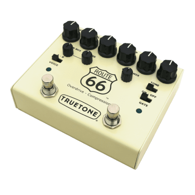 New Truetone Route 66 V3 Overdrive and Compressor, Help Support Small Business & Buy It Here Thanks for sale