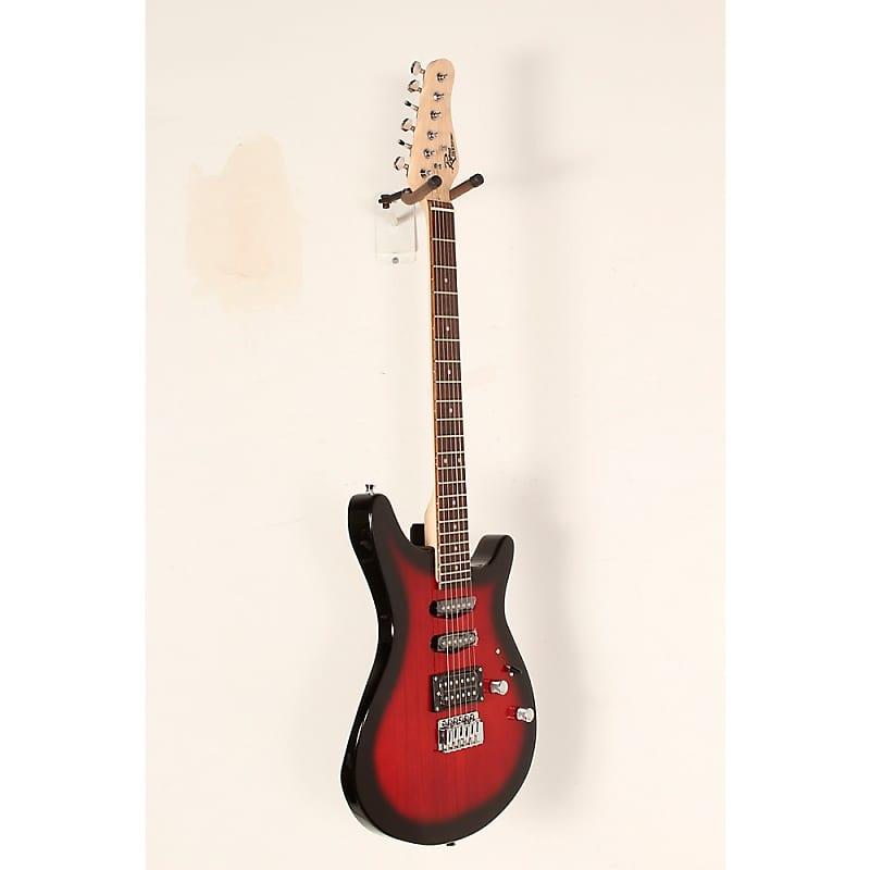 rogue rocketeer electric guitar pack regular red burst reverb. Black Bedroom Furniture Sets. Home Design Ideas