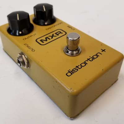 MXR Vintage 70's MXR Distortion + (plus) Guitar Effect Pedal Made In the USA for sale