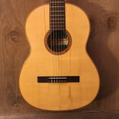 Giannini GN-65 Vintage Classical Acoustic Guitar Natural c. 1970s for sale