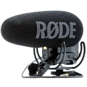 RODE VMP+ VideoMic Pro Plus Camera Mount Supercardioid Shotgun Microphone