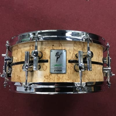 Signed Sonor Benny Greb Signature Beech and Scandinavian Birch