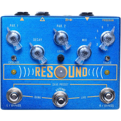 Cusack Music Resound Reverb Guitar Effects Pedal Regular