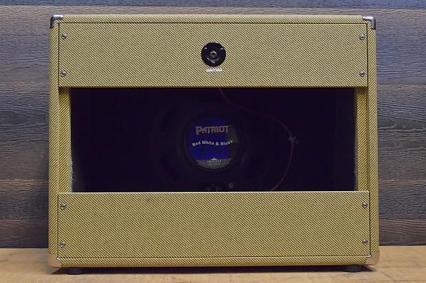 fuchs tweed open back 1x12 eminence speaker 8 ohm reverb. Black Bedroom Furniture Sets. Home Design Ideas