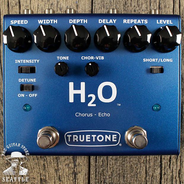 visual sound h2o v3 echo chorus the guitar store reverb. Black Bedroom Furniture Sets. Home Design Ideas