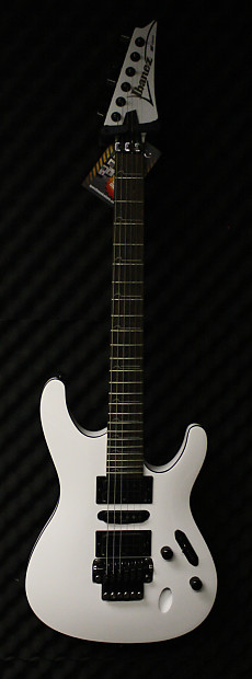 ibanez s570b white electric guitar reverb. Black Bedroom Furniture Sets. Home Design Ideas