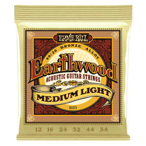 Ernie Ball 2003 Earthwood 80/20 Acoustic String Set, 12-54 for sale