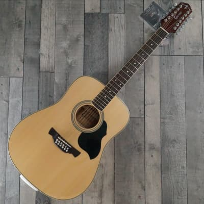 Crafter MD 50/12 '12 String' Dreadnought Acoustic Guitar, Gloss Natural for sale