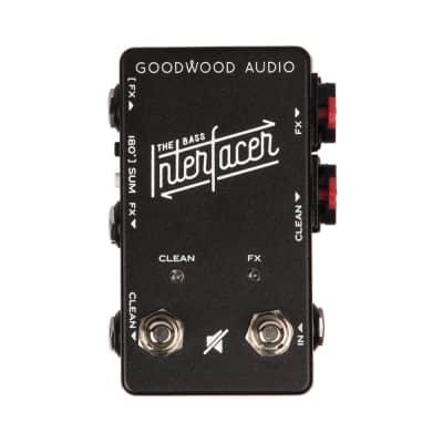 Goodwood Audio Bass Interfacer Signal Splitter Mutable Clean Effects Lines Pedal