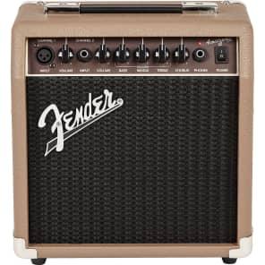 "Fender Acoustasonic 15 2-Channel 15-Watt 1x6"" Acoustic Guitar Amp"