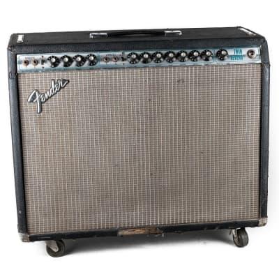 """Fender Twin Reverb 2-Channel 135-Watt 2x12"""" Guitar Combo 1977 - 1981"""