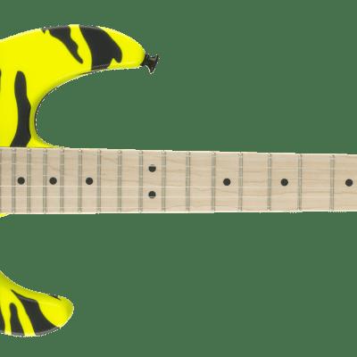 Charvel Satchel Signature Pro-Mod DK, Maple Fingerboard, Yellow Bengal 885978897087