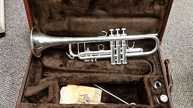 Almost New Bach 180s37 Silver Trumpet For Sale Reverb