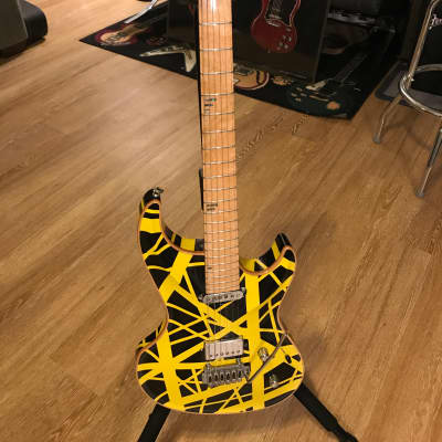MJ  Mirage Custom Rally EVH Custom Black and Yellow for sale