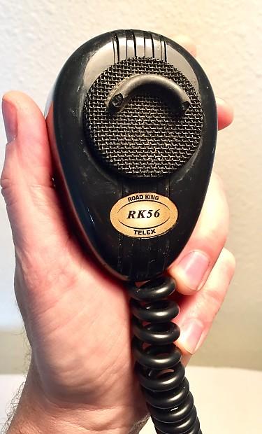 Vintage Black CB Mic microphone