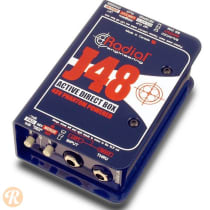 Radial J48 Active Direct Box 2010s Blue image