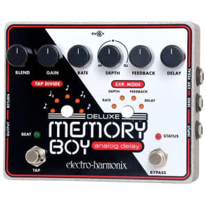 Electro Harmonix Deluxe Memory Boy Tap Temp Analog Delay Pedal for sale