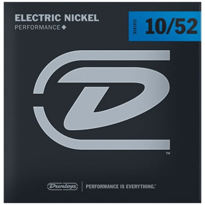 Dunlop Performance+ Electric Guitar Strings 10-52, DEN1052