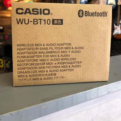 Casio WU-BT10 Bluetooth Wireless MIDI & Audio Adapter
