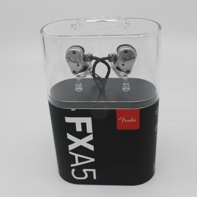 Fender FXA5 Pro In-Ear Monitors (Silver)