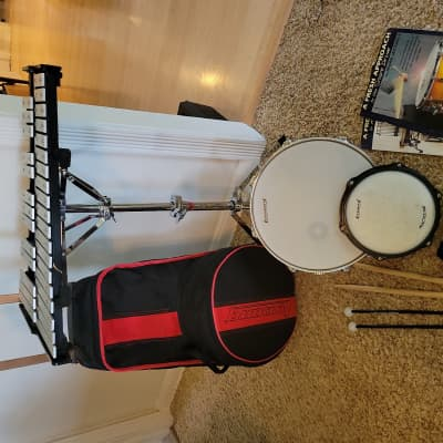 Ludwig LE2483R Snare / Bells Percussion Kit with Rolling Bag