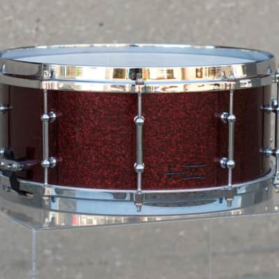 TreeHouse Custom Drums 6x14 15-ply Maple Snare Drum
