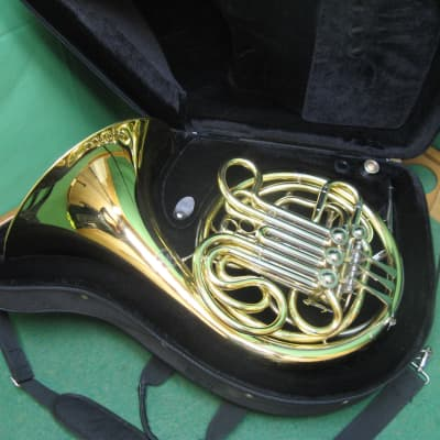 Accent HR781 Double French Horn - Refurbished - Nice Original Case and Mouthpiece
