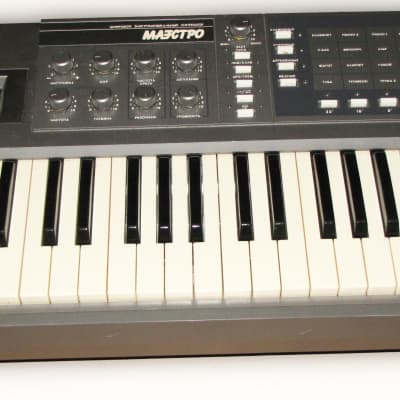 """""""Maestro"""" soviet analog synthesizer younger brother """"of the Polivoks"""""""