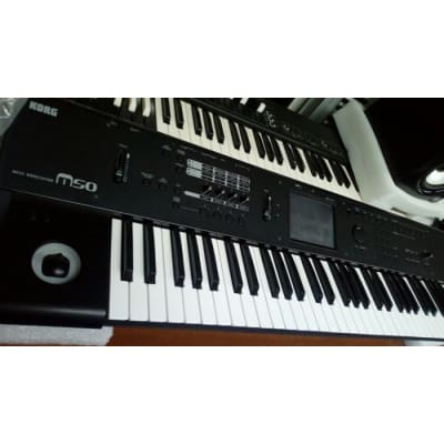 Korg M50 61 Keys Workstation Synth with Synthonia Libraries