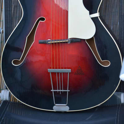 Gitarre Guitar A-Z by Hanika Archtop Jazz Made in Germany for sale