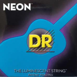 DR NBA-12 Hi-Def Neon Acoustic Guitar Strings - Medium (12-54)