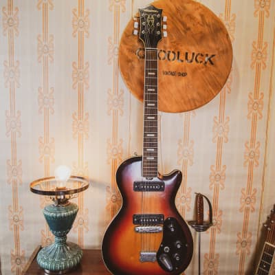 Musima Deluxe 25K GDR Rare Vintage Electric Guitar USSR Les Paul Melody Maker for sale