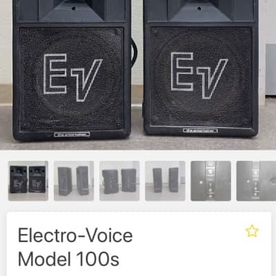 Elextro-Voice Model 100s Black
