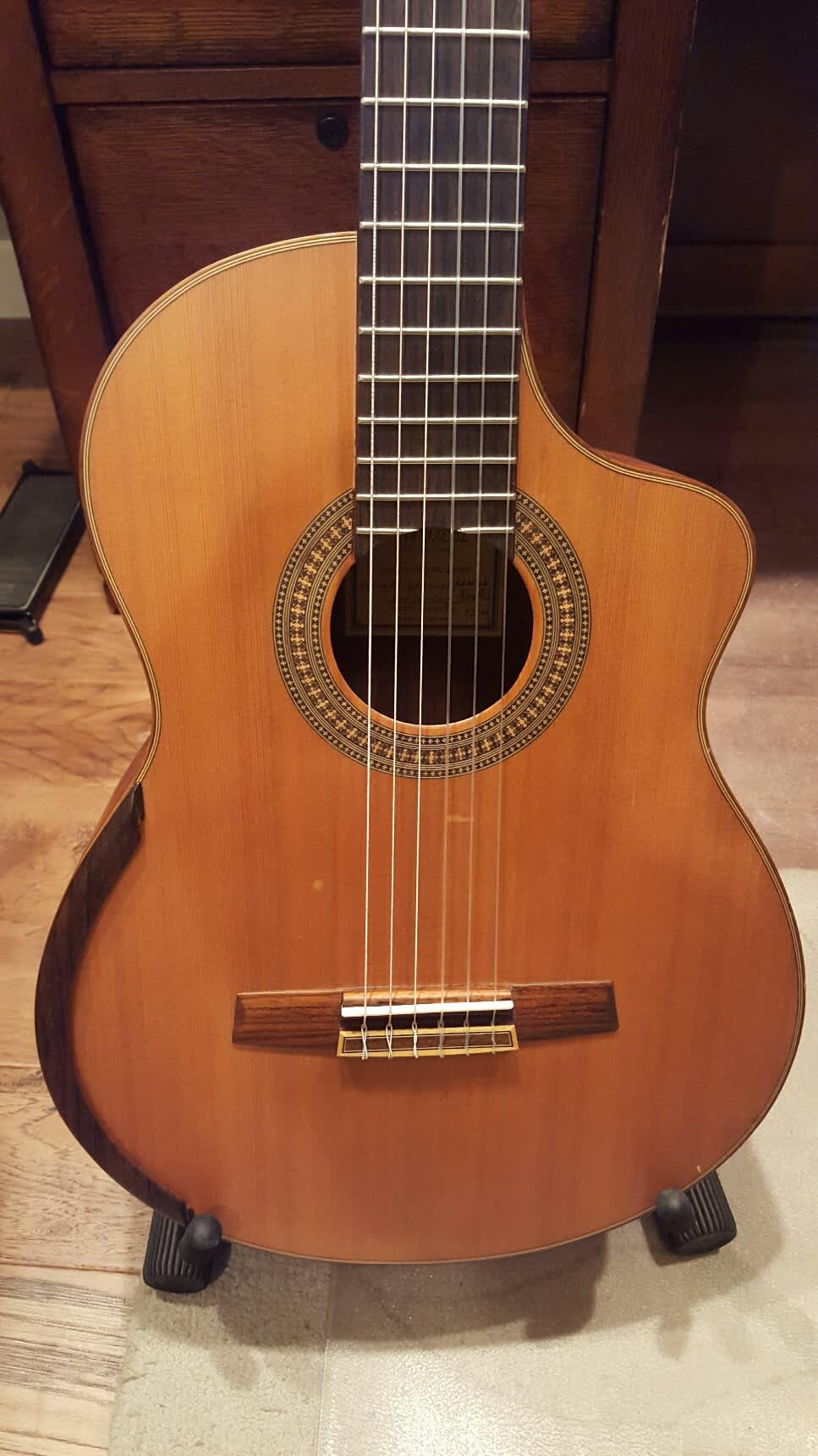 Harvest Master Guitar Series Gcs 12ce Lattice Braced 2006