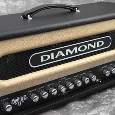 Diamond Amplification Spitfire II Guitar head amp for sale