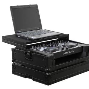 Odyssey FRGSDNMC36000BL Glide Style Black Label Case for DN-MC3000/DN-MC6000/DN-MC6000MK2 MIDI Controllers