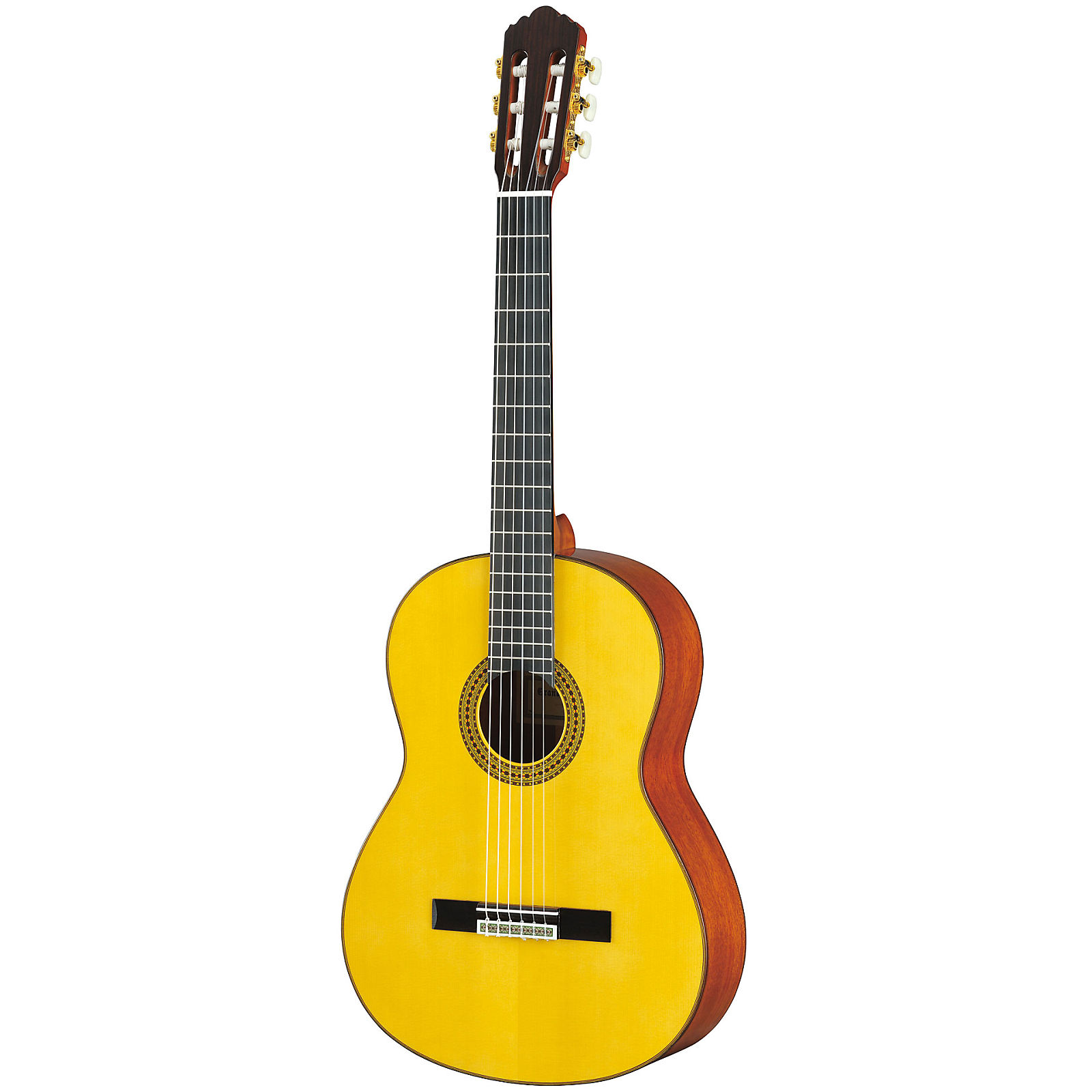 Yamaha gc12s handcrafted classical guitar natural reverb for Yamaha gc12s review